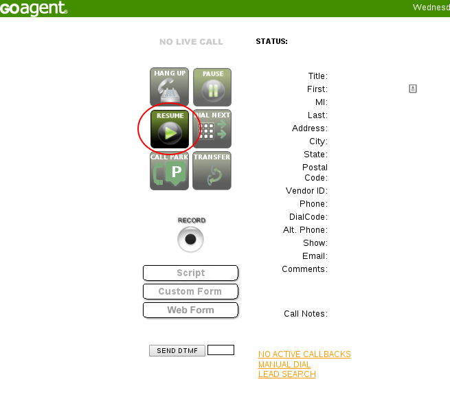 Using GO AutoDial with Call Menu Directed to Agents – Help Center