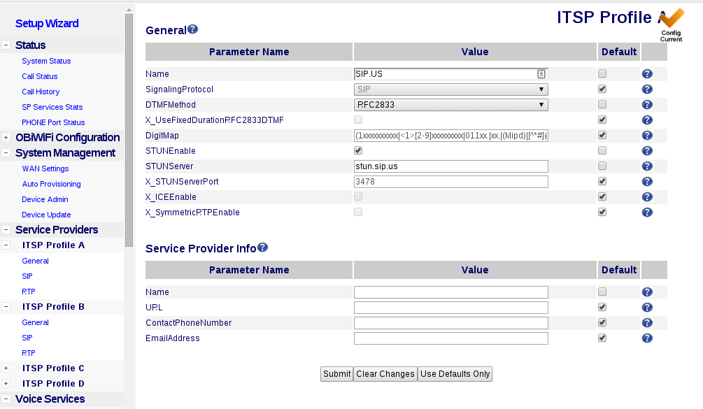 SIP US Configuration on OBi200 and Similar Devices – Help Center